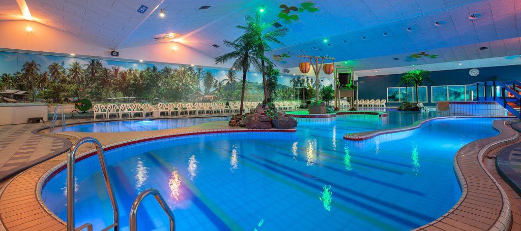 Interieur zwembad Tropiqua Veendam