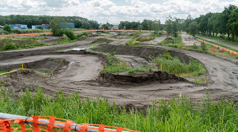 Motorcrossbaan Veendam totaal