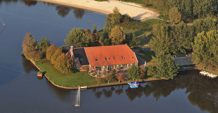 Luchtfoto Borgerswoldhoeve